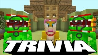 Minecraft Wii U - Super Mario Tripolar Trivia Map -
