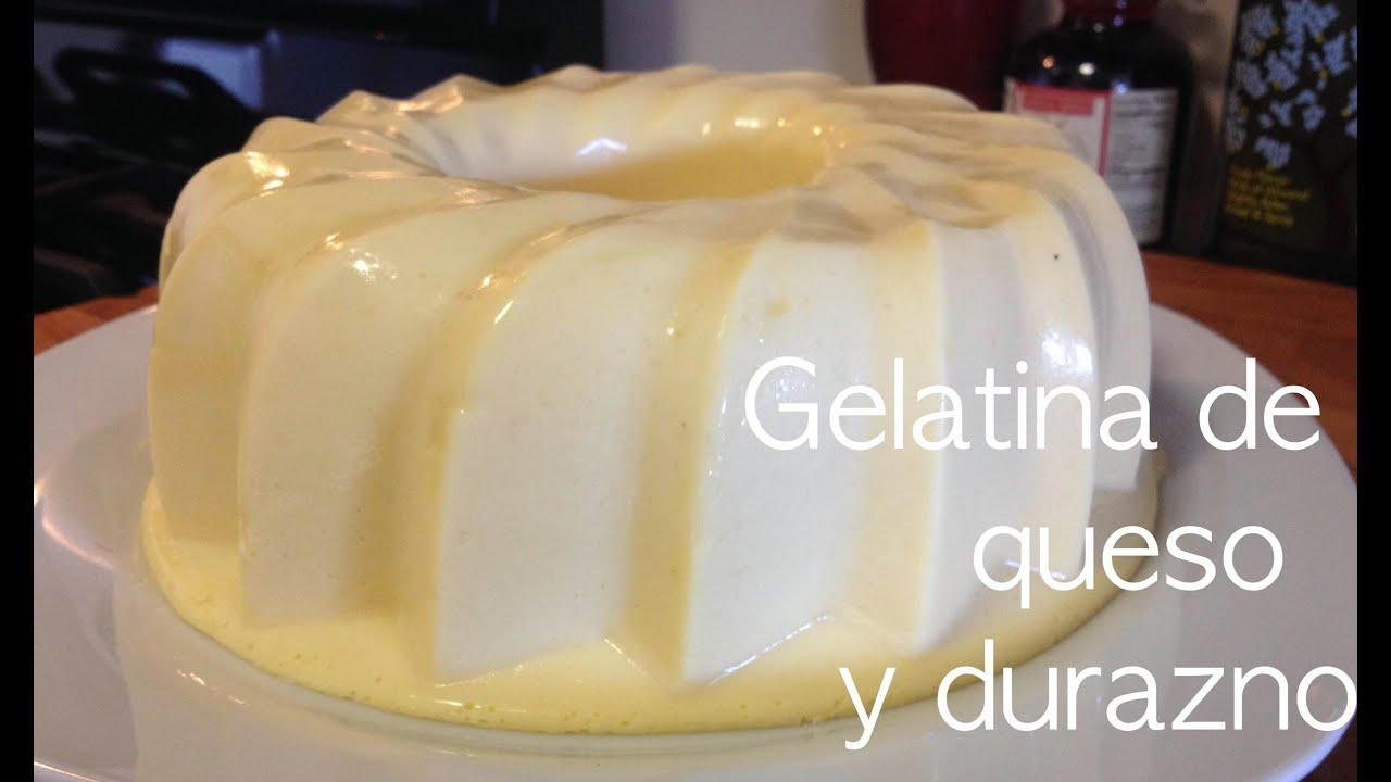 gelatina de queso
