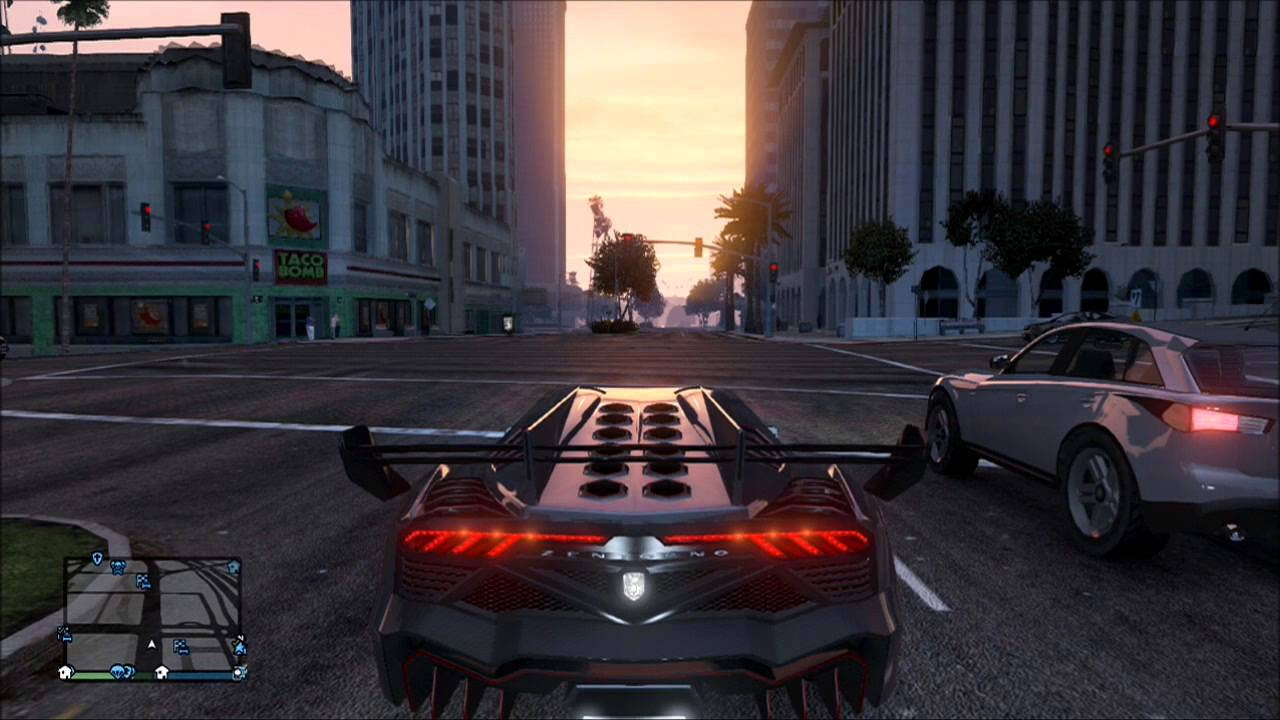 Gta V Test Drives Lamborghini Veneno Youtube