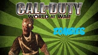 COD World at War Custom Zombie map Fun with friends