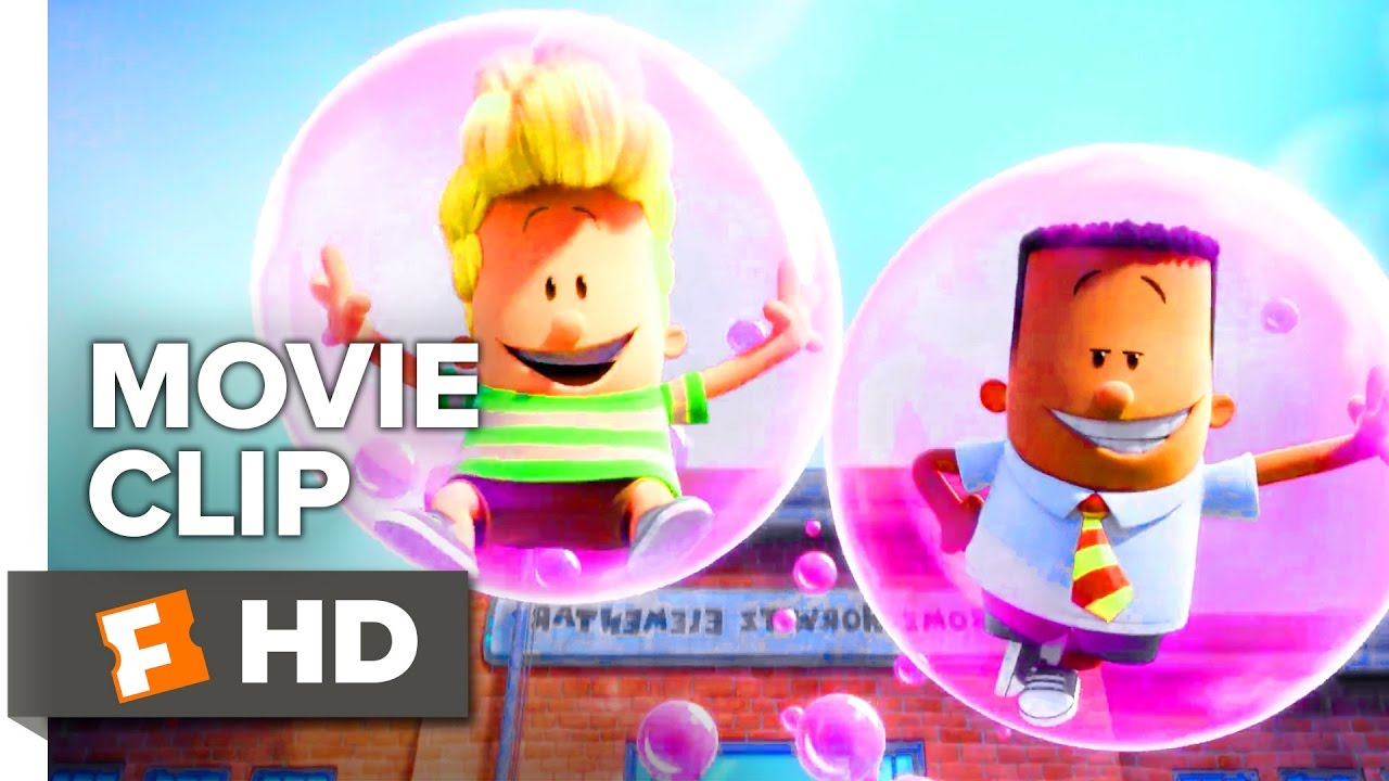 Captain Underpants The First Epic Movie Clip Pranksters 2017 Movieclips Coming Soon Youtube