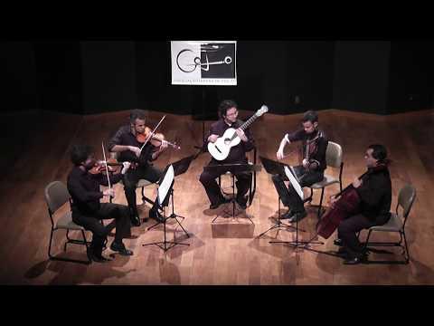 Concerto in A, op. 30 | Mauro Giuliani | Quarteto Capital & Alvaro Henrique (19th Century guitar)