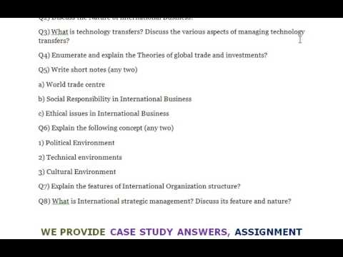 explain the features of international organization structure