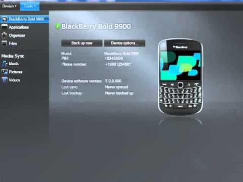 blackberry desktop software for bold 9900