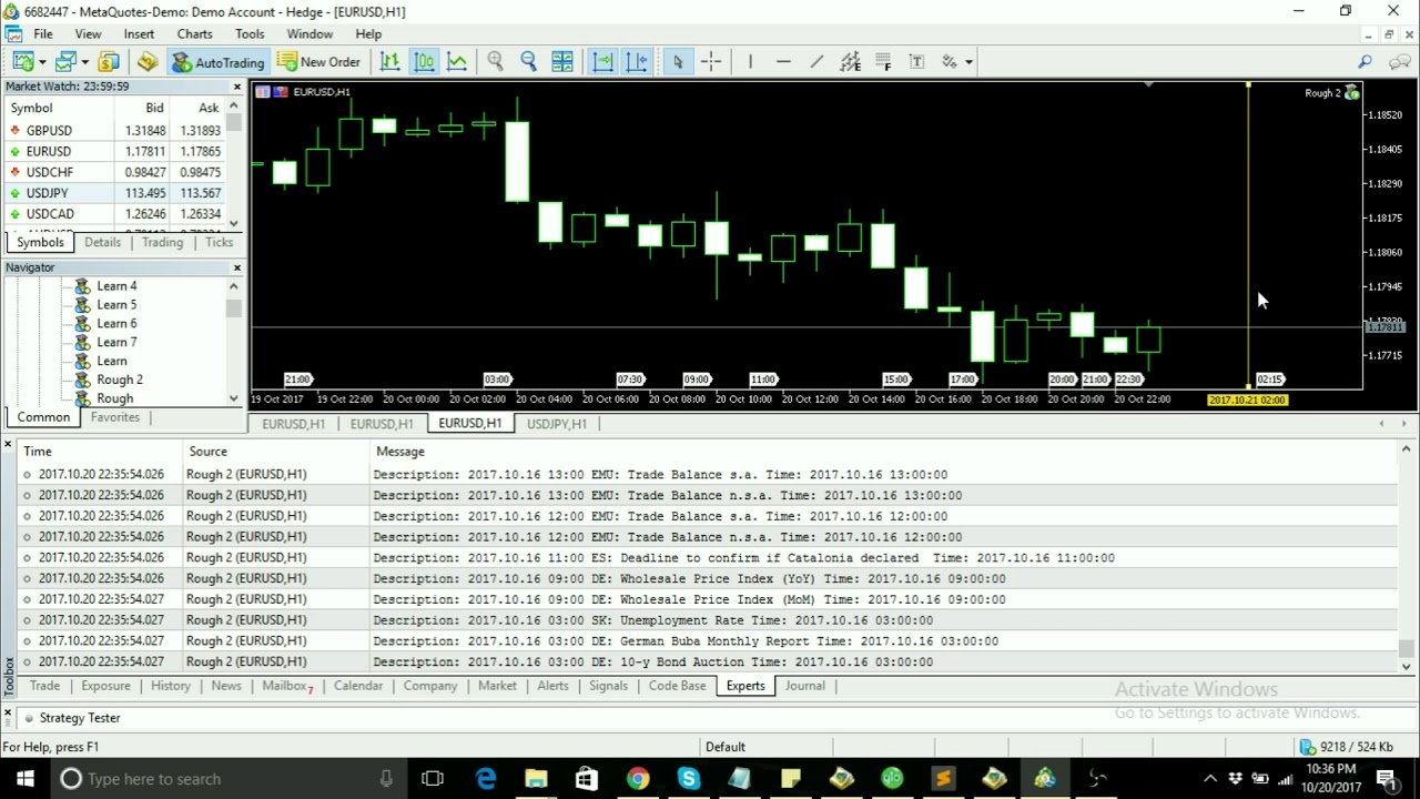 MQL5 Coding - News Filter I
