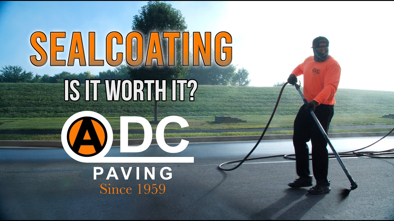 Asphalt Sealcoating: Is it time? Is it worth it?