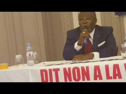 Rencontre Jean PING et Diaspora Gabonaise d'Eurasie - hôtel California - Champs-Élysées Paris