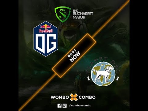 OG vs Planet Dog 2.0 Game 1 (BO3) PGL The Bucharest Major EU Qualifiers