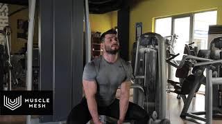Sumo Squat - Musclemesh Egzersiz Hareketleri - Bacak