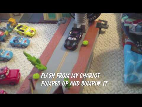 Disney Cars - Rollin in the Rearview with Lyrics