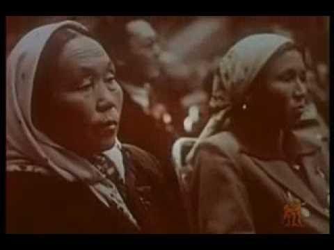 ☛☛ 彩色纪录片 【祝贺——毛泽东访问苏联】 1957年 中央新闻纪录电影制片厂 Chinese classical movie ☚☚