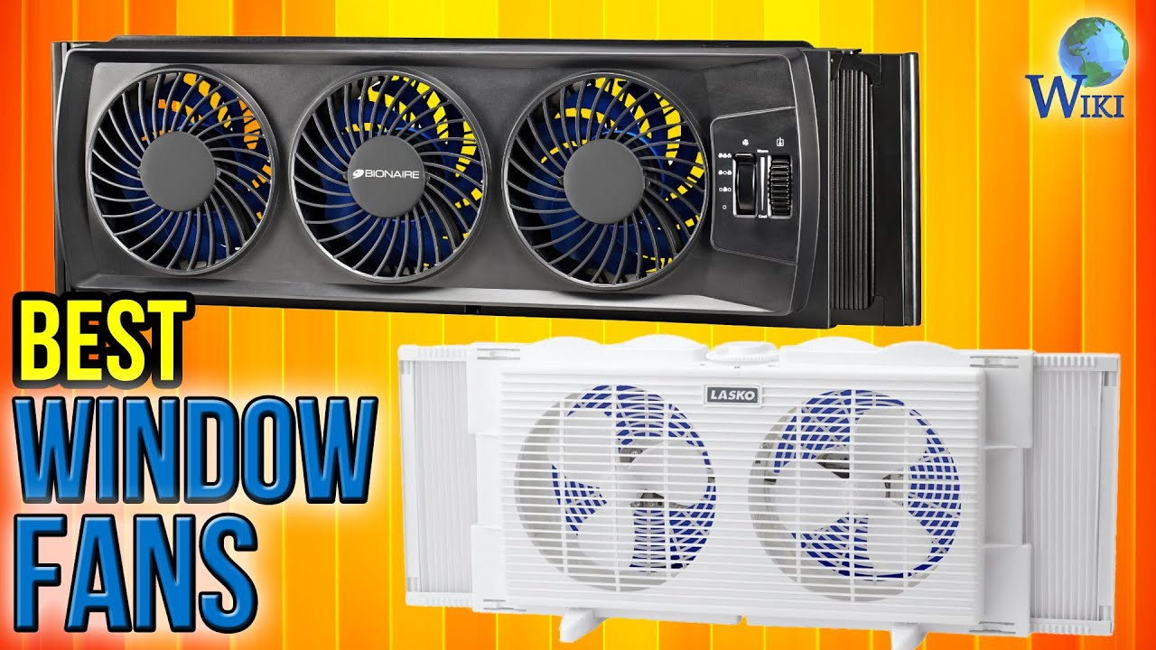 8 best window fans 2017 youtube for Highest r value windows 2017