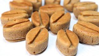 오븐없이 냄비로 만드는 커피콩빵 (몰드 2개분량)
