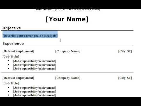 common resume errors resume templates