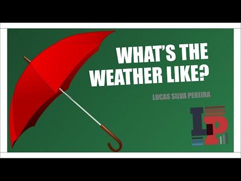The weather - Clima ou Tempo em inglês