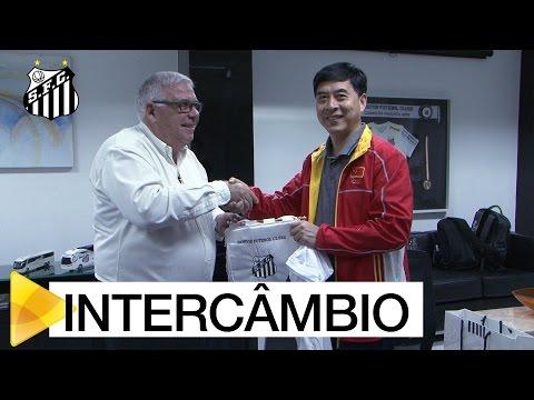 Santos oficializa intercâmbio com treinadores e atletas chineses