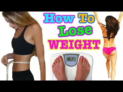 How to Lose Weight FAST &  EASY!