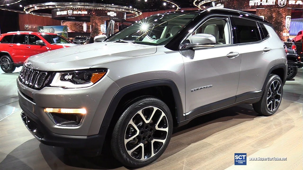2018 jeep compass limited exterior walkaround 2017 detroit auto show youtube. Black Bedroom Furniture Sets. Home Design Ideas