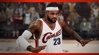 NBA 2K15 Gameplay Mavs vs Cavs PC Max Settings