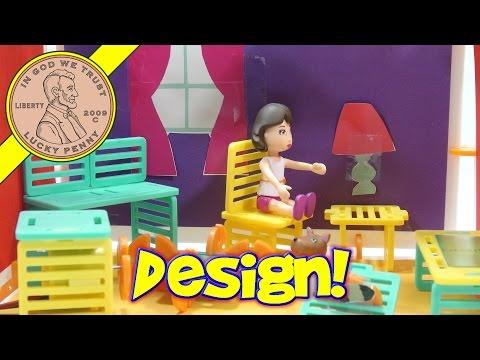 Roominate Studio Design + Build Set, A Living Room For Harrie!