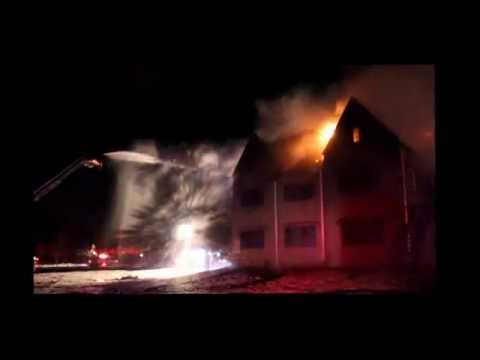 Centereach Fire Department - Lake Grove School Fire 2015