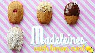 French Madeleines With Special Lemon Curd