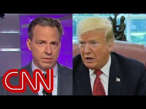 Jake Tapper calls out Trumps stunningly dismissive tone