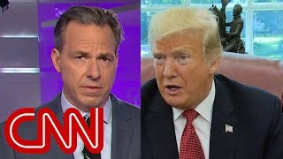 Jake Tapper calls out Trump