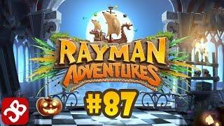 Rayman Adventures - Halloween (Adventure 186-187) iOS / Android Gameplay Video - Part 87
