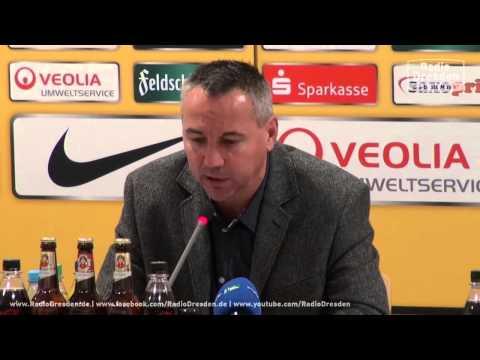 Pressekonferenz Dynamo Dresden  | Offizielle Vorstellung des neuen Trainers Peter Pacult