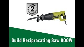4813011 Guild Reciprocating Saw   800W
