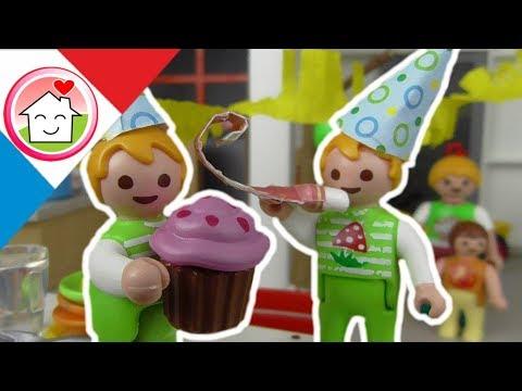 Playmobil En Francais L Anniversaire Des Jumeaux La Famille Hauser