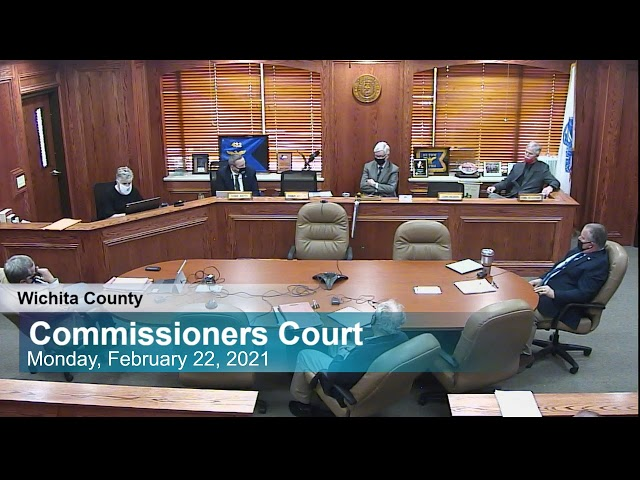 Commissioners Court 2/16/2021