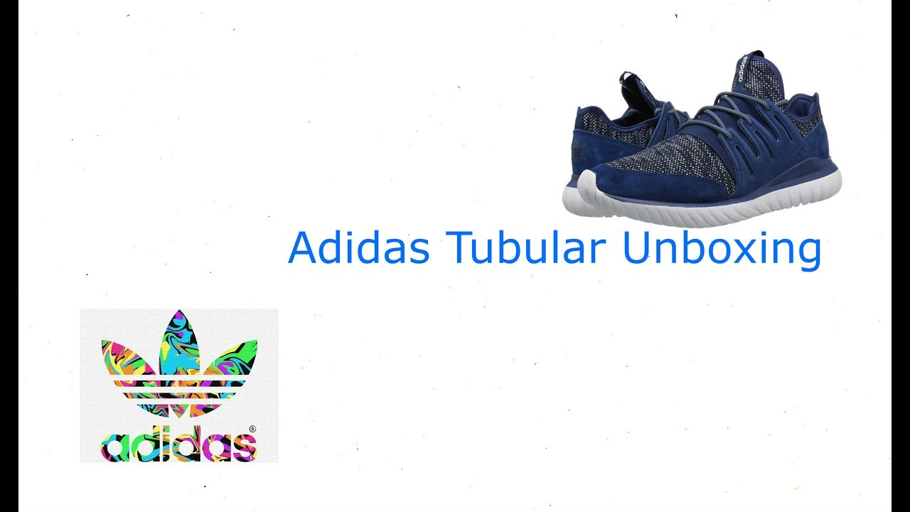 Adidas tubular misterio radial unboxing y review / primera color azul