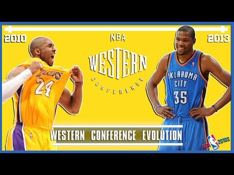 A Timeline Of The NBA Western Conference In The Last Decade (NBA 2010s)