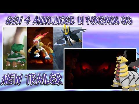 Gen 4 Pokemon Announced In Pokemon GO Starters & Giratina