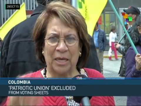 Colombia: Patriotic Union Charges Vote Stealing and Demands Recount