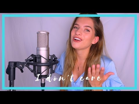 Ed Sheeran & Justin Bieber - I Don't Care #Cover | JULIA VAN BERGEN