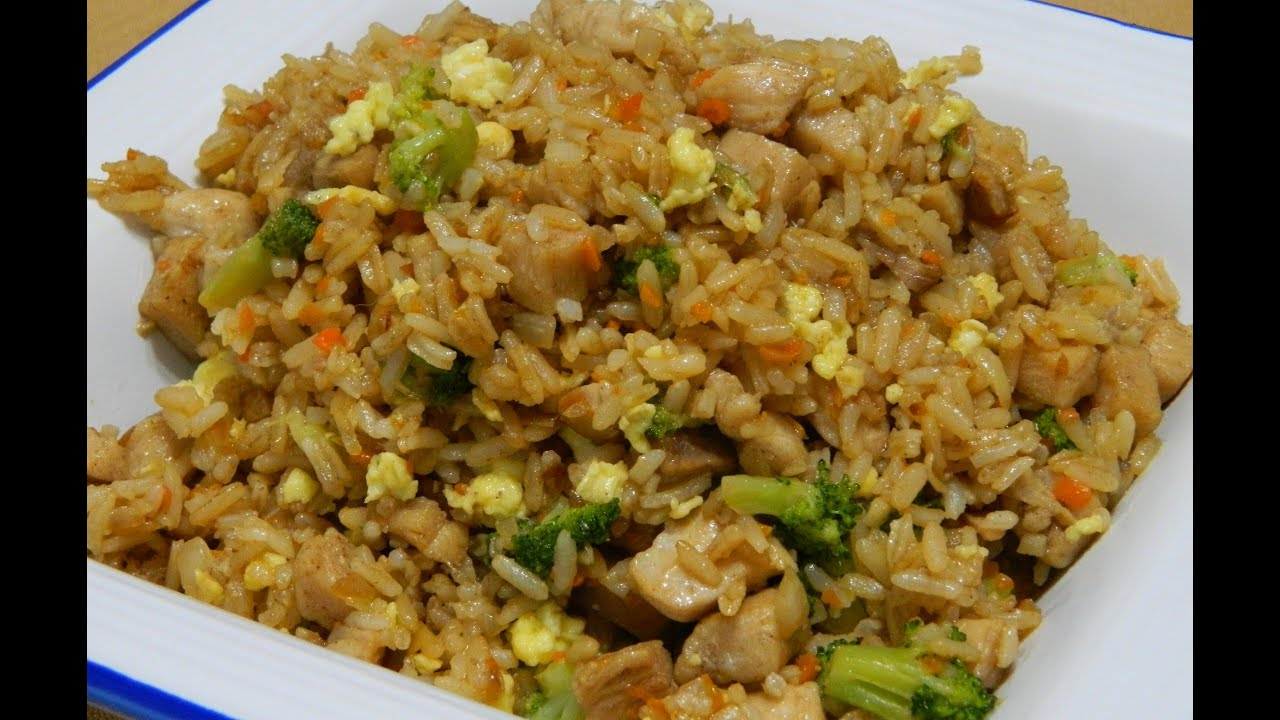 How to make home made chinese fried rice youtube ccuart Images