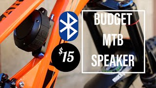 BUDGET MTB  $15 KUNODI BLUETOOTH SPEAKER+DIY SPEAKER HOLDER