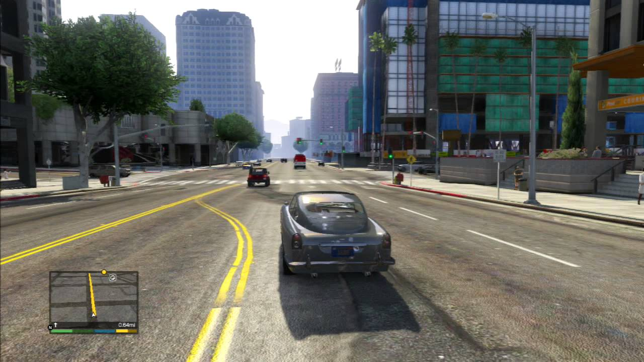 GTA V FRANKLIN DROPING SPIKES FORM A SUPRISE CAR - YouTube