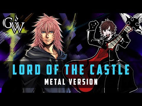 KINGDOM HEARTS METAL ► Lord Of The Castle | Guitar Cover