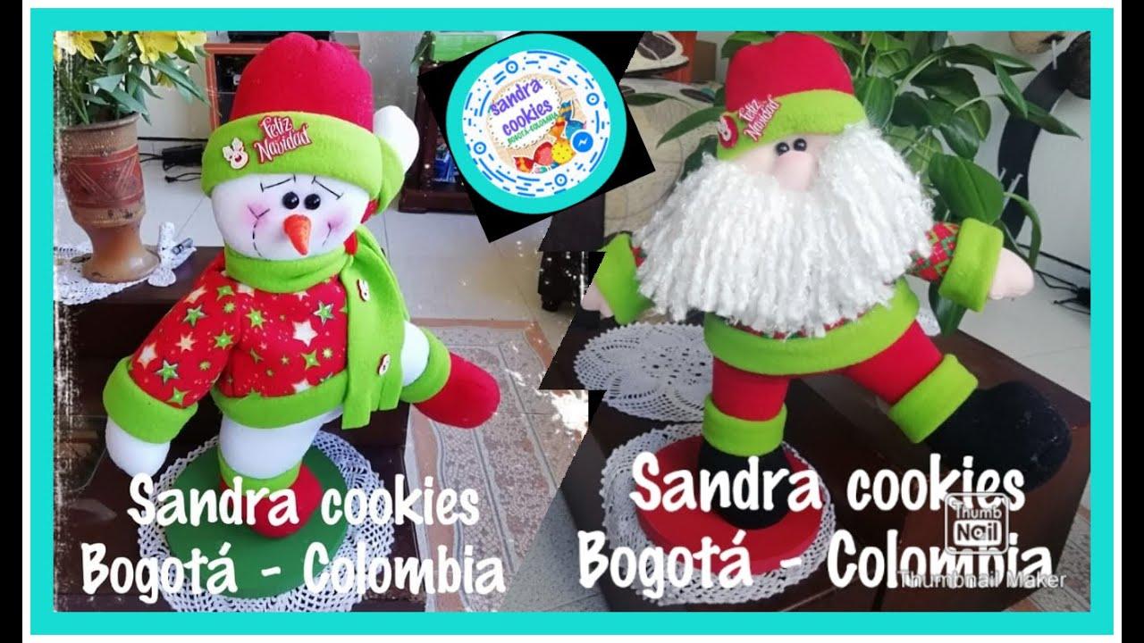 Imagenes Gratis De Papa Noel.Papa Noel En Base De Madera Moldes Gratis Sandracookies