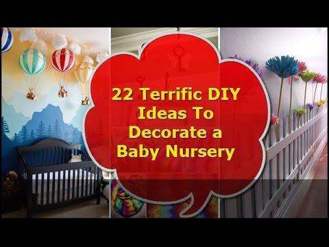 22 Terrific DIY Ideas To Decorate a Baby Nursery