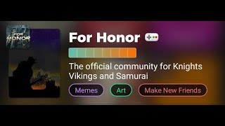 For Honor: Amino Duel Event 11-10-18