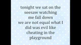 Nina Nesbitt Seesaw lyrics