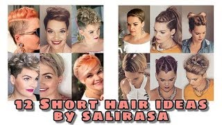 12 easy styles for short hair   Salirasa