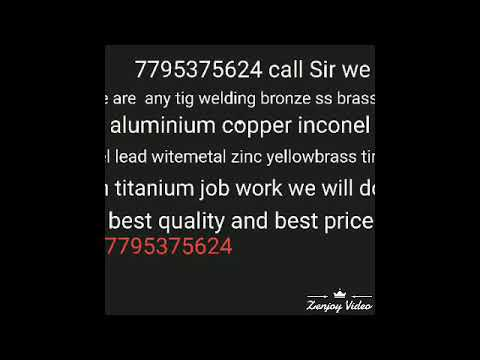 zinc yellowbrass tin titanium job work we will do in best quality and best prices 7795375624