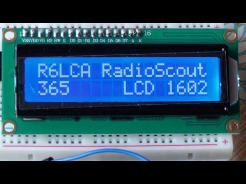 Ардуино: осваиваем LCD дисплей с I2C модулем