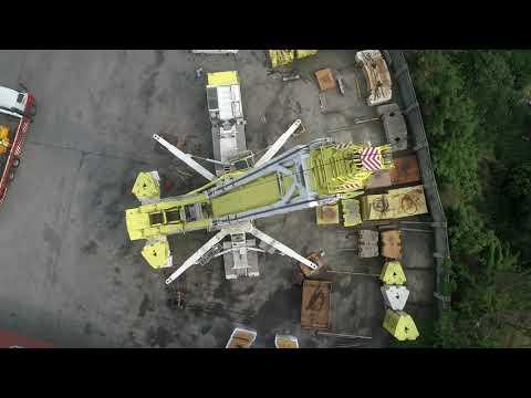 啟德機械起重工程LIEBHERR LTM11200-9.1空拍紀錄